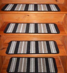 13  Step  9'' x 30'' + Landing 24'' x 30'' In/Outdoor Stair Treads Non-Slip .