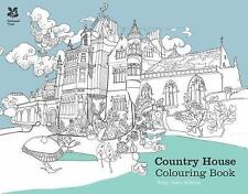 The Country House Colouring Book, Adams, Amy Jane