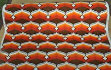 "Fabric Vintage "" Beldécor "" Piece 10m. x 1.30m. against Bonded on paper - 1970'"