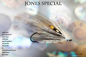CANADIAN SALMON FLY JONES SPECIAL 1/0 X3   BY RYAN HOUSTON