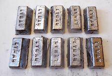 10 Lbs. Lead Bars Ingots for Bullet and Sinker Material
