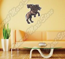 "Cerberus Hell Dog Tree Heads Beast Myth Wall Sticker Room Interior Decor 20""X25"""