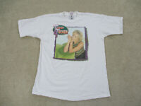 VINTAGE Tanya Tucker Shirt Adult Extra Large White Country Music Concert Men 90s