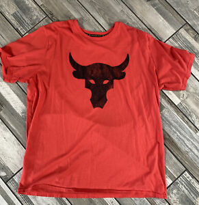 the rock under armour 3xl tee shirt Has A Small Imperfection See Picture