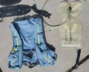 Nathan Vaporkrar 12L Hydration Race Vest Medium 1.8L bladder plus racing belts