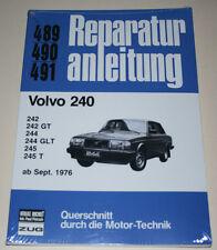Manual de Reparaciones Volvo 240 242 244 245 , a Partir Año Fab . 1976
