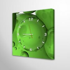Wanduhr Deko Vintage Design Wohnzimmer Leinwanduhr Abstrakt Dekoration Uhr 010