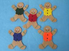5 LITTLE GINGERBREAD CRAFT SCRAPBOOK  KIDS FELT STORY