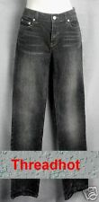 Victoria Secret Straight leg Black wash jeans sz 2 T