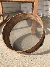 Antique, Bent Wood, Hand Made Grain/ Flour Sifter / Sieve 14 X 4 Inches