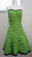 Jessica McClintock For Gunne Sax Juniors Strapless Prom Dress Size 9