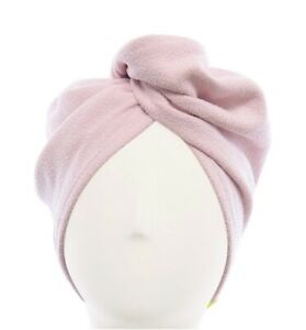 Aquis Super Absorbent Hair Turban pink Brand New Free Shipping