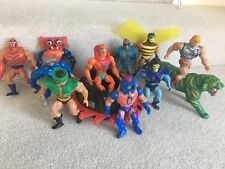 COLLECTION OF VINTAGE HE MAN MASTERS OF THE UNIVERSE MATTEL FIGURES