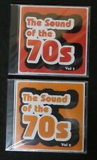 The sounds of the 70's Vol 1 and 2    Various artists  CD new and sealed (B8)