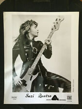 Suzi Quatro original vintage press headshot photo #2