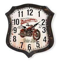 Orologio Vintage da parete metallo Moto