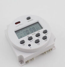 CN101A AC110V Digital LCD Power Programmable Timer Time Switch Relay 16A
