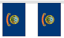 IDAHO U.S. STATE BUNTING 9 metres 30 flags Polyester flag