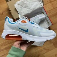 Nike Men's Air Max 200 Trainers Size UK 8 EUR 42.5 Grey CT1262 001 NEW