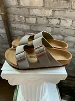 NEW Birkenstock Arizona Women's Sandals Slide Buckle Stone 0151211 AUTHENTIC