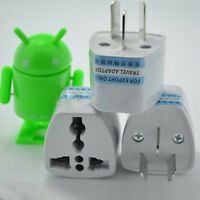 UK/US/EU Universal to AU AC Power Plug Adapter Travel 3 pin Converter Easy
