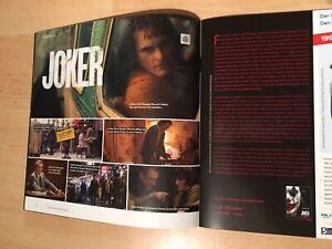 JOKER englischspr. Presseheft + Extra JOAQUIN PHOENIX / KEIN Poster BATMAN