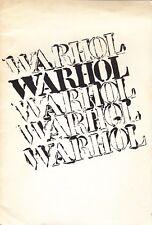 "Warhol. Ileana Sonnabend, Parigi, 1964. Allegato poster ""Blue Electric Cha"