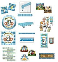 Oktoberfest - party decorations Tableware Cutouts Photo props plates napkins ect