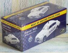 Atlas Editions Jaguar MkII Bedfordshire Police, Mint 1:43 white