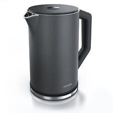 Arendo Wasserkocher ELEGANT - Temperatureinstellung 40-100°C 1,5 Liter 2200 W