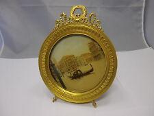 Historismus / Jugendstil Bilderrahmen Feuervergoldet Bronze 21 x 16,3 cm  #12