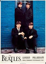 "Beatles Command Performance Concert Poster Replica 13x19"" Photo Print"