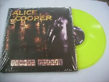 ALICE COOPER - BRUTAL PLANET - REISSUE LP YELLOW VINYL NEW UNPLAYED 2011 180 GR.