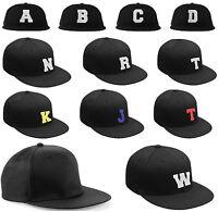 NEW BASEBALL CAP LETTER A - Z  HAT BEANIE TSHIRT SNAPBACK  Adjustable Strap