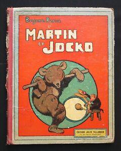 Benjamin Rabier - Martin et Jocko - Jules Tallandier 1912