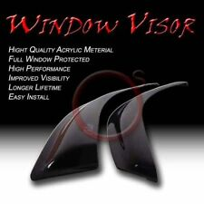 Chevy Blazer 95-05 Smoke Window Vent Sun Shade Acrylic Rain Guard Visors S10