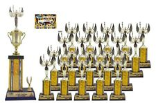 FIRST TIME CAR SHOW AWARD TROPHY PACKAGE 1C TOP 20 CAR SHOW AWARDS