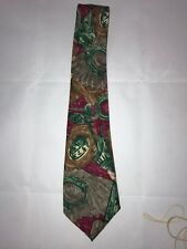 Pable Picasso Abstract Design High Fashion Multi Color Polyester Classic Tie