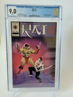 RAI #2 CGC 9.0 GRADED WHITE PAGES 1992 VALIANT COMICS 1ST APPEARANCE OF ICESPIKE