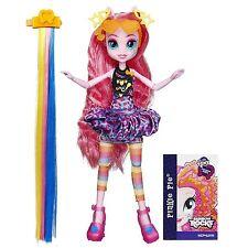 "My Little Pony Equestria Girls Rainbow Rocks Pinkie Pie Hairstyle Doll 9"" Hasbro"