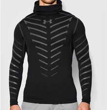 Men UA Under Armour Cold Gear Infrared Compression Top Black Size Small 1265658