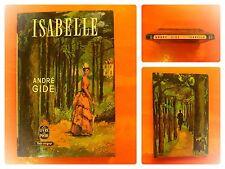 Isabelle. André Gide. Roman Le Livre de Poche N° 621
