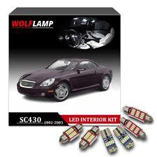 11Pcs White Kit Canbus Bulbs LED Interior Car Lights For 2002-2005 Lexus SC430