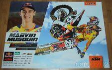 2015 Marvin Musquin Red Bull KTM 250 SX-F AMA Supercross Motocross poster