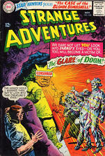 STRANGE ADVENTURES #182 VG, subscription crease, DC Comics 1965