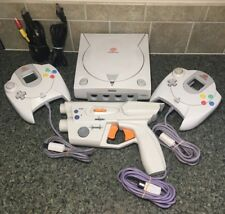 Sega Dreamcast Launch Edition White Console (NTSC) With StarFire LightBlaster