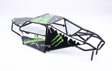 Alloy Roll cage kit with Plastic Green image windows for 1/5 Hpi Baja 5T 5SC
