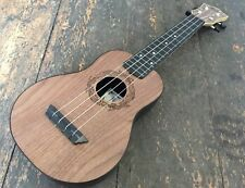 Left Handed Flight Natural TUS50 ABS Travel Soprano Ukulele With Free Gig Bag