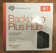 Seagate Backup Plus Hub 8TB - USB 3.0 External  Hard Disk Drive