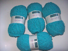 4 SKEINS SUNDANCE SPA SATION YARN - OCEANVIEW